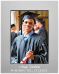Anodized Aluminum Picture Frame-Gray Misc. Gift Awards