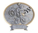 Legend Oval Award -Motocross Moto-Cross Trophy Awards