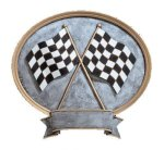 Legend Oval Award -Racing Moto-Cross Trophy Awards