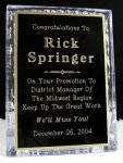 Acrylic Ice Stand Square Rectangle Awards